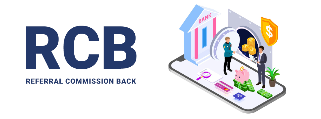 What is RCB (Referral Commission Back) means in HYIP Industry?